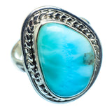 Larimar Rings handcrafted by Ana Silver Co - RING985564