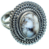 Dendritic Opal Rings handcrafted by Ana Silver Co - RING988448