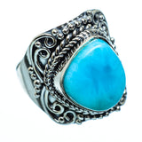 Larimar Rings handcrafted by Ana Silver Co - RING991424