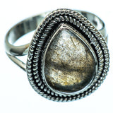 Labradorite Rings handcrafted by Ana Silver Co - RING991901