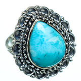 Larimar Rings handcrafted by Ana Silver Co - RING991961