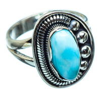 Larimar Rings handcrafted by Ana Silver Co - RING992477