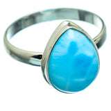 Larimar Rings handcrafted by Ana Silver Co - RING993619
