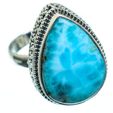 Larimar Rings handcrafted by Ana Silver Co - RING993939