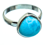 Larimar Rings handcrafted by Ana Silver Co - RING994485
