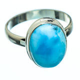 Larimar Rings handcrafted by Ana Silver Co - RING994508