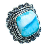 Larimar Rings handcrafted by Ana Silver Co - RING995384