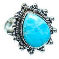 Larimar Rings handcrafted by Ana Silver Co - RING995781