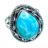 Larimar Rings handcrafted by Ana Silver Co - RING996038