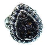 Tektite Rings handcrafted by Ana Silver Co - RING996307