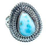 Larimar Rings handcrafted by Ana Silver Co - RING996579