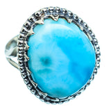 Larimar Rings handcrafted by Ana Silver Co - RING996583