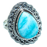 Larimar Rings handcrafted by Ana Silver Co - RING997017