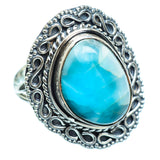 Larimar Rings handcrafted by Ana Silver Co - RING997329