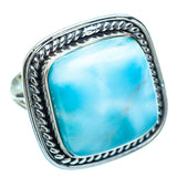 Larimar Rings handcrafted by Ana Silver Co - RING997450