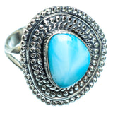 Larimar Rings handcrafted by Ana Silver Co - RING997703