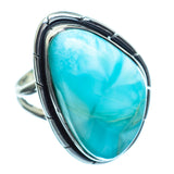 Larimar Rings handcrafted by Ana Silver Co - RING997884