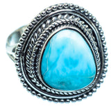 Larimar Rings handcrafted by Ana Silver Co - RING997943