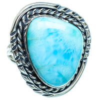Larimar Rings handcrafted by Ana Silver Co - RING998588
