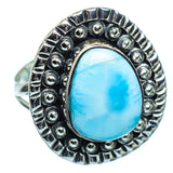 Larimar Rings handcrafted by Ana Silver Co - RING999932