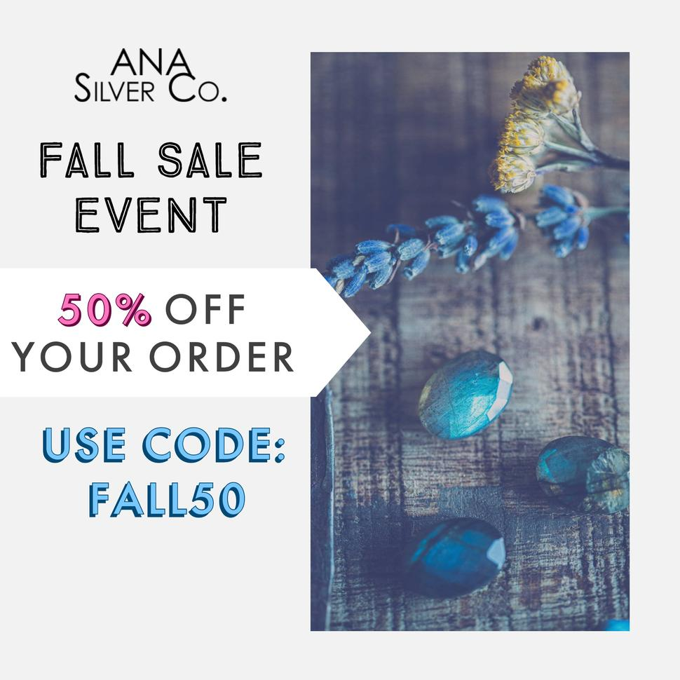 50% OFF - USE CODE FALL50