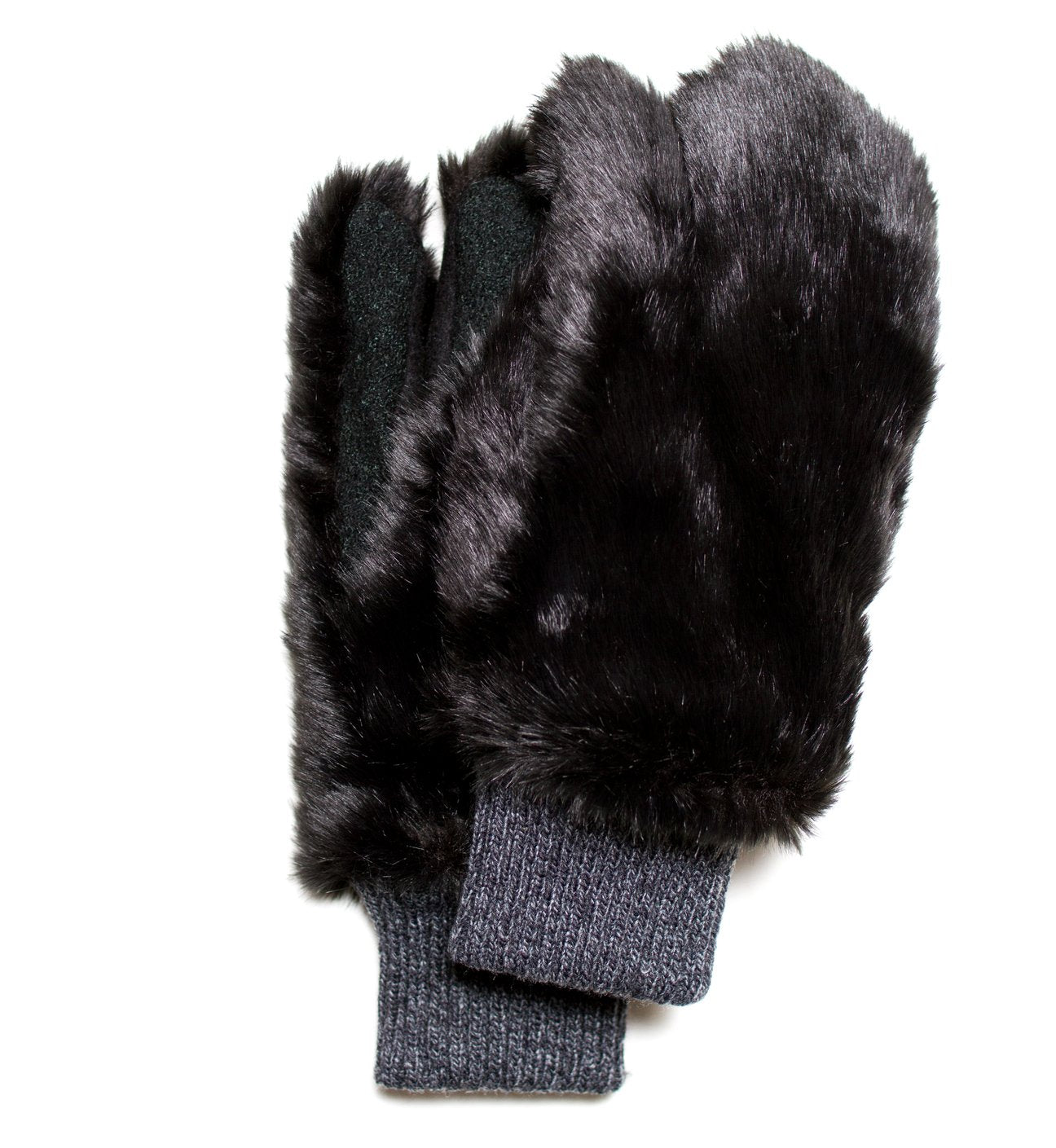 BEAR Faux Fur Gloves