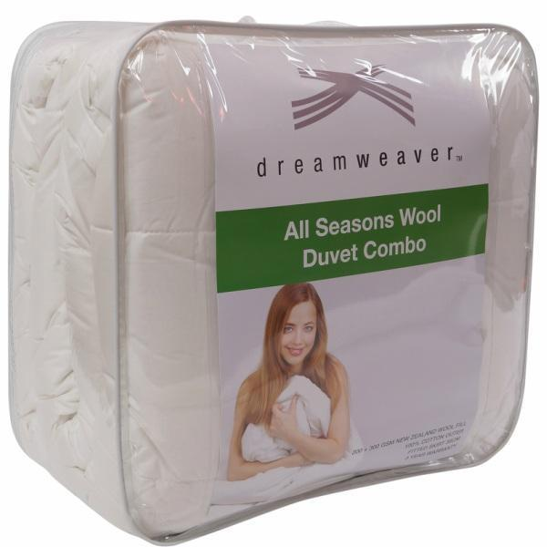 Duvet Inner All Seasons 500gsm DREAMWEAVER