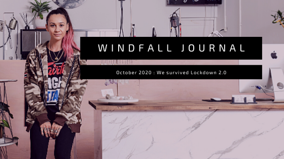 Windfall Journal - October 2020 - We're back baby!!