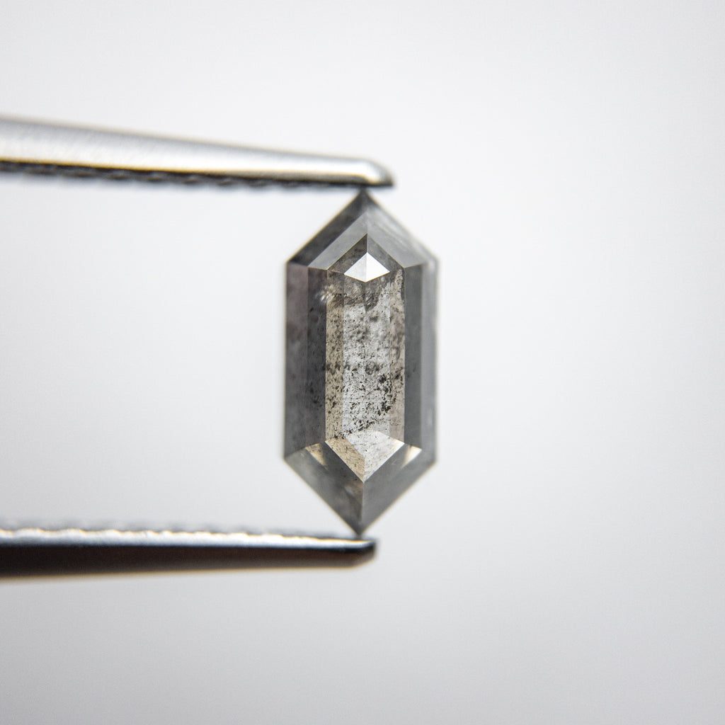 1.20ct 9.05x4.13x3.20mm Hexagon Rosecut 18134-07