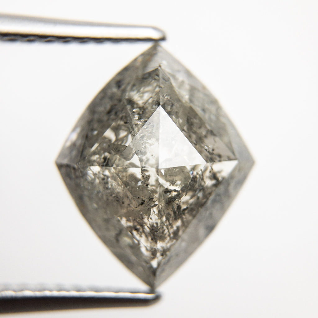 3.58ct 12.85x10.59x4.18mm Kite Rosecut 18168-03