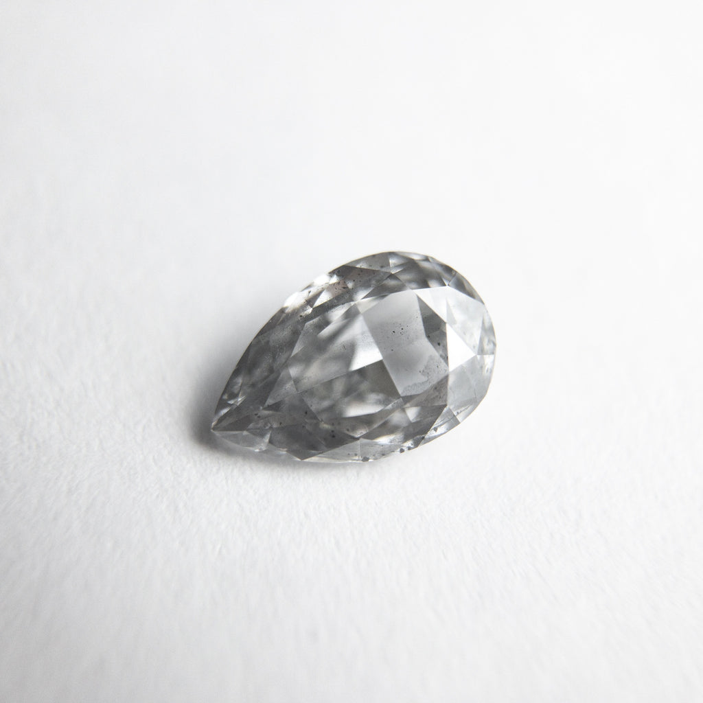0.53ct 6.84x4.51x2.32mm GIA I1 Fancy Grey Pear Brilliant 18169-01