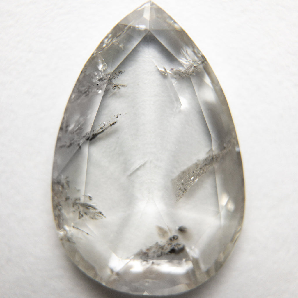 3.35ct 15.29x10.33x2.30mm Pear Rosecut 18201-01