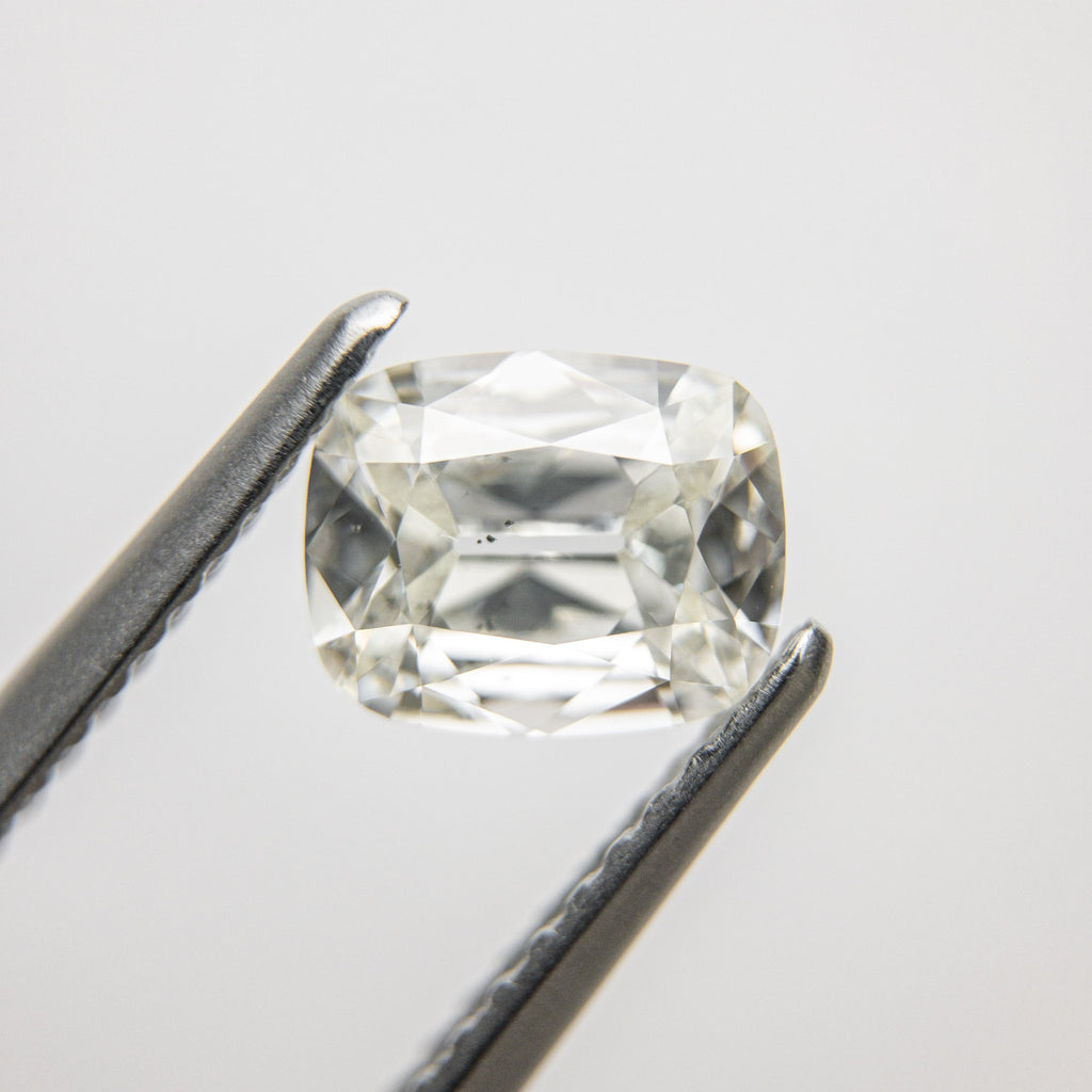 0.91ct 6.93x5.58x2.70mm SI2 H Modern Old Mine Cut 18214-05