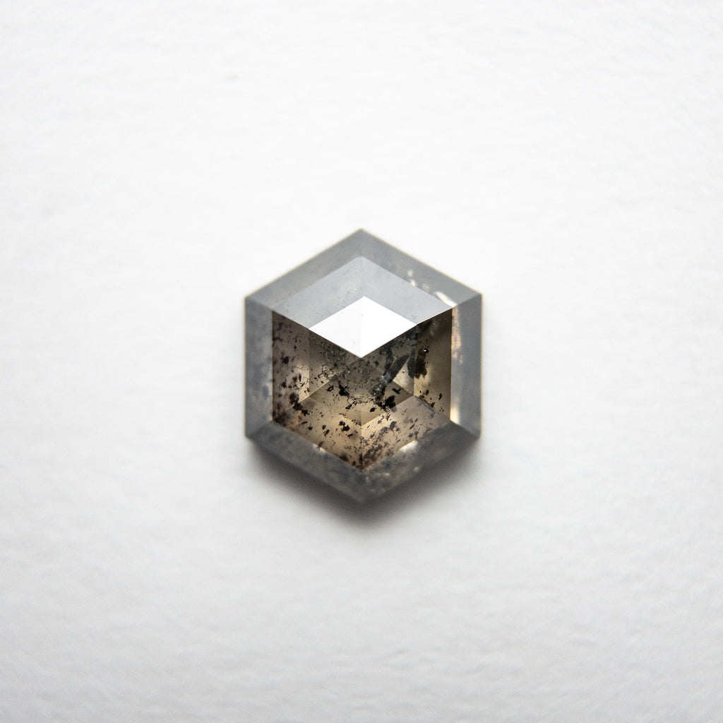 1.19ct 7.25x6.29x3.00mm Hexagon Rosecut 18221-04