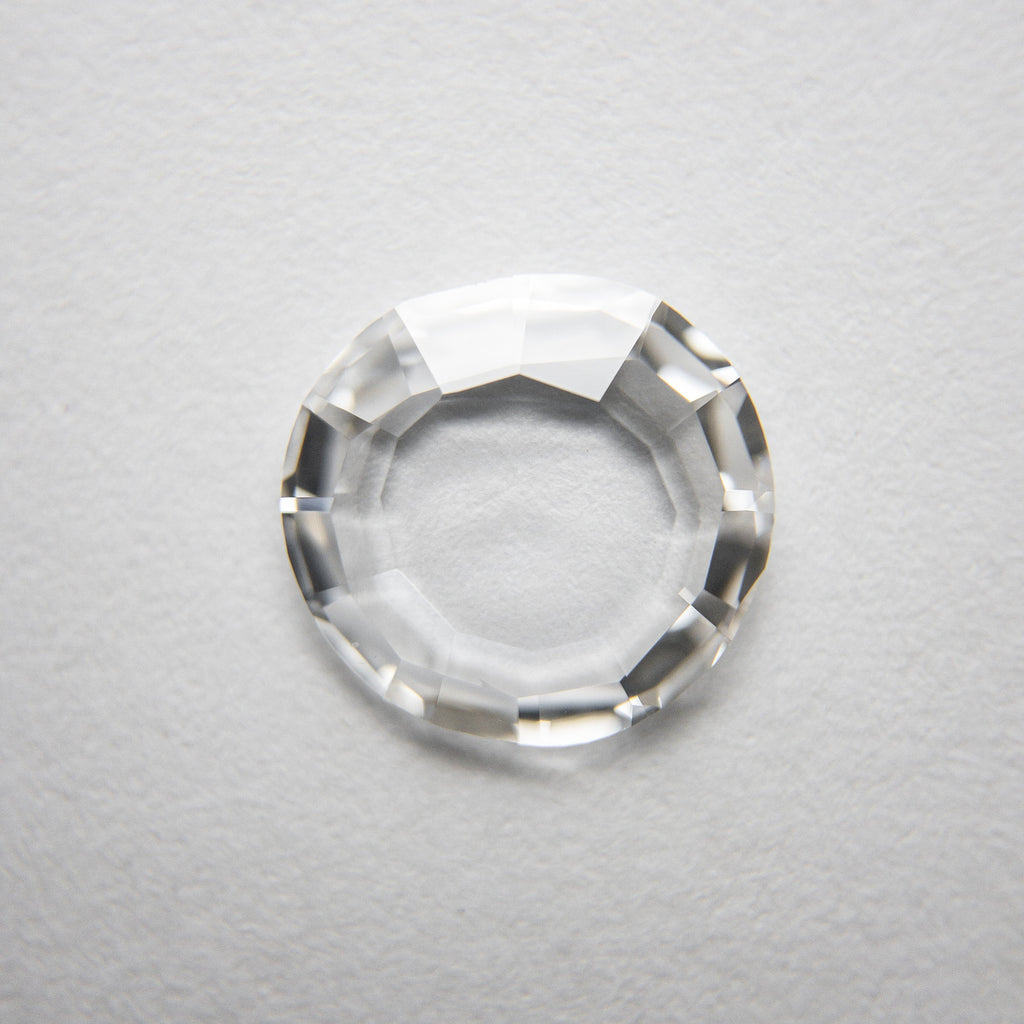 1.02ct 8.81x8.45x1.47mm VS2 D Round Portrait Cut 18229-02