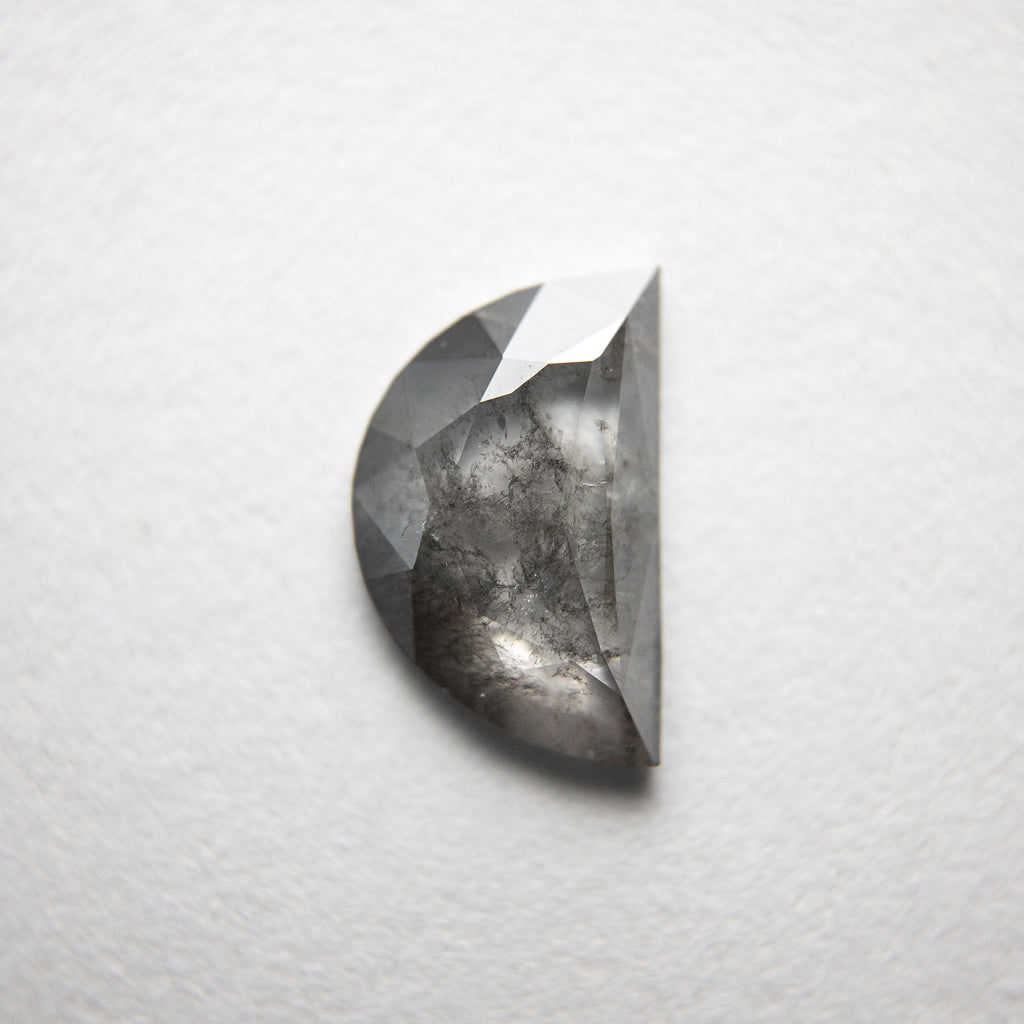 0.98ct 8.81x5.60x2.02mm Half Moon Rosecut 18293-11