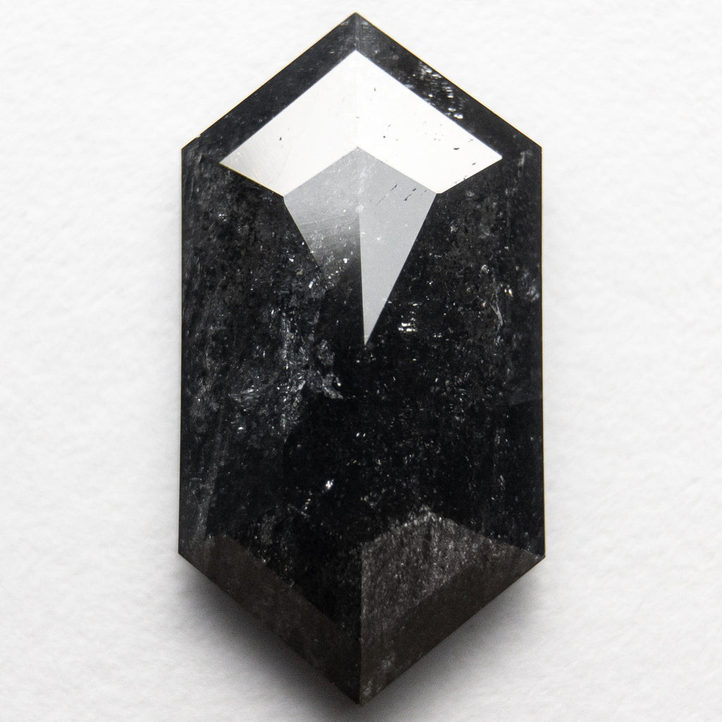 3.85ct 15.22x8.11x3.24mm Hexagon Rosecut 18366-02