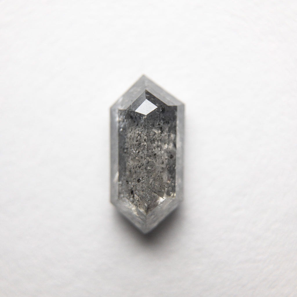 1.10ct 8.96x4.31x2.89mm Hexagon Rosecut 18366-10