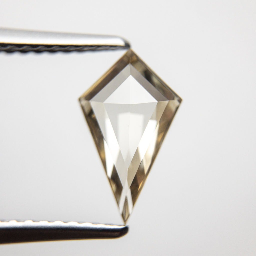1.01ct 11.12x6.70x2.47mm Kite Rosecut 18369-21