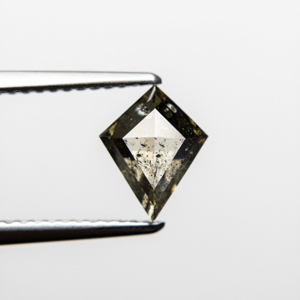 1.18ct 8.65x6.87x3.48mm Kite Rosecut 18456-06 HOLD