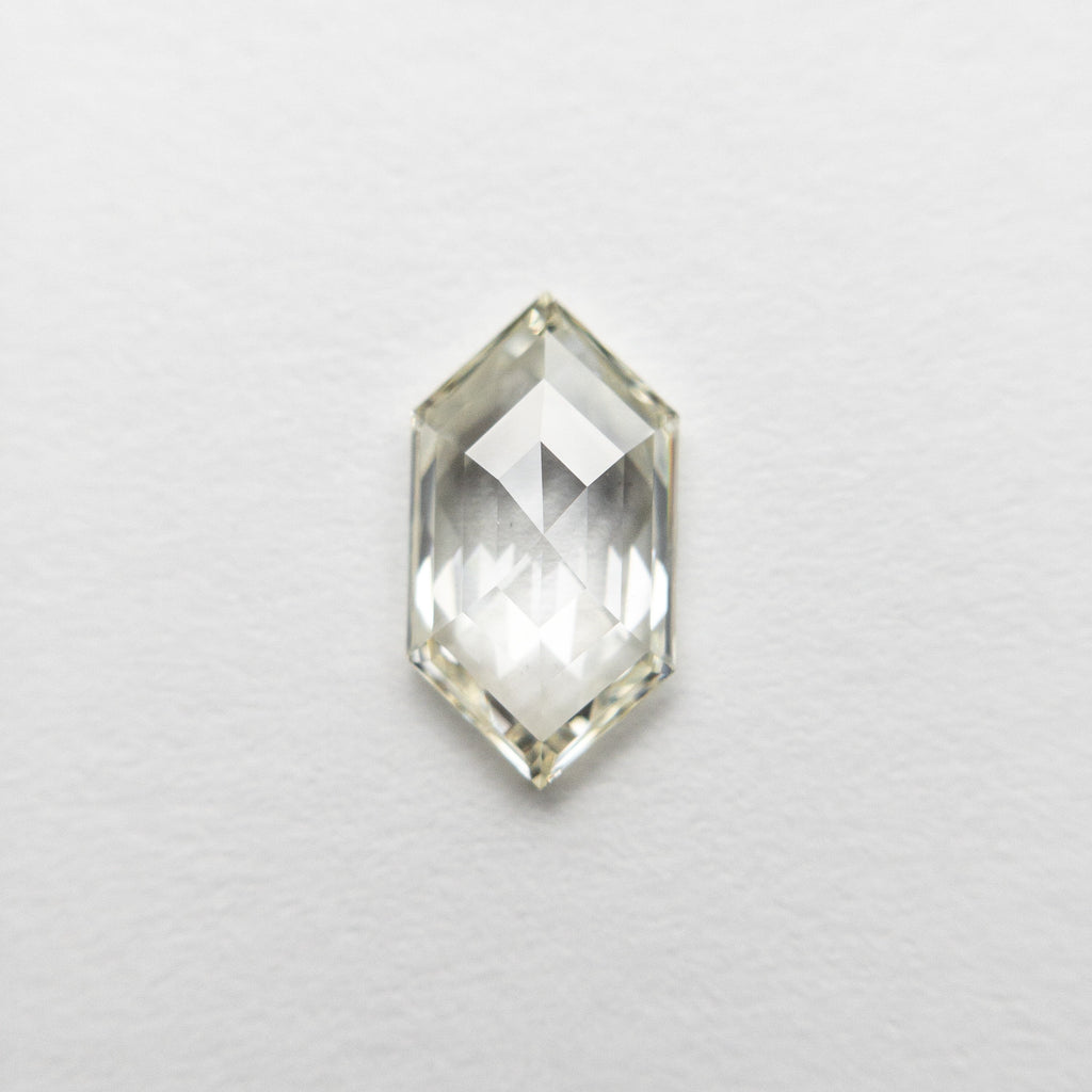 0.68ct 8.64x4.64x2.06mm SI1 J-K Hexagon Rosecut 18458-05 🇷🇺