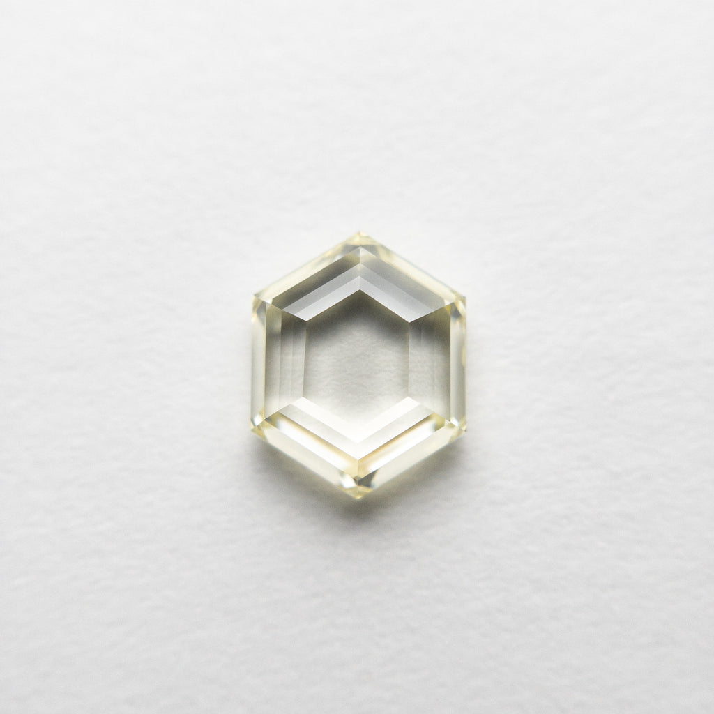 1.04ct 7.10x5.68x2.61mm VS2 Fancy Yellow Hexagon Step Cut 18469-01 🇨🇦