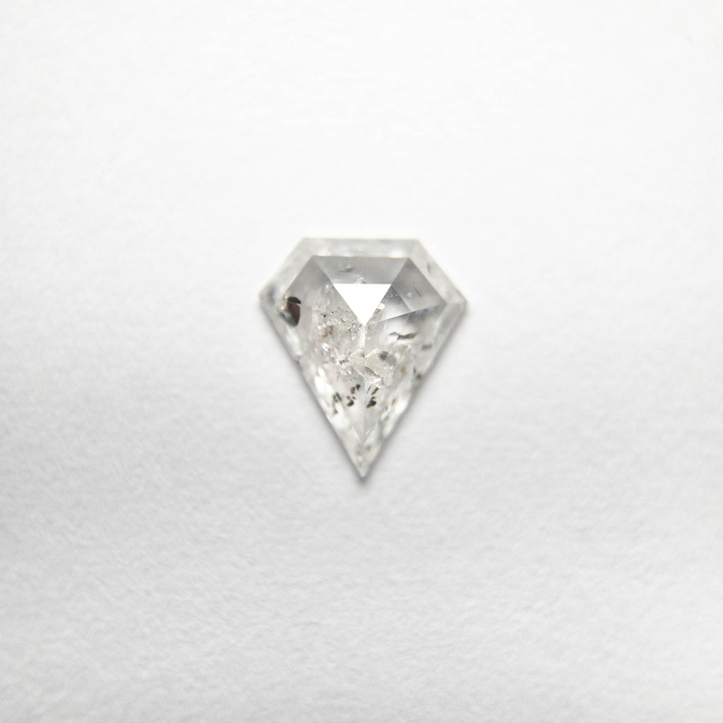 0.38ct 6.17x5.48x1.85mm Shield Rosecut 18493-10
