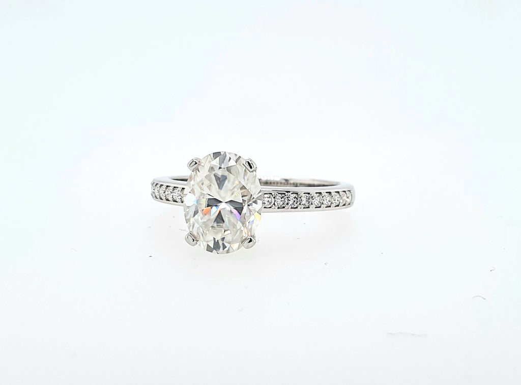 Oval Ara Solitaire - Ready to Ship