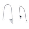 Triangle Safety Pin Earrings