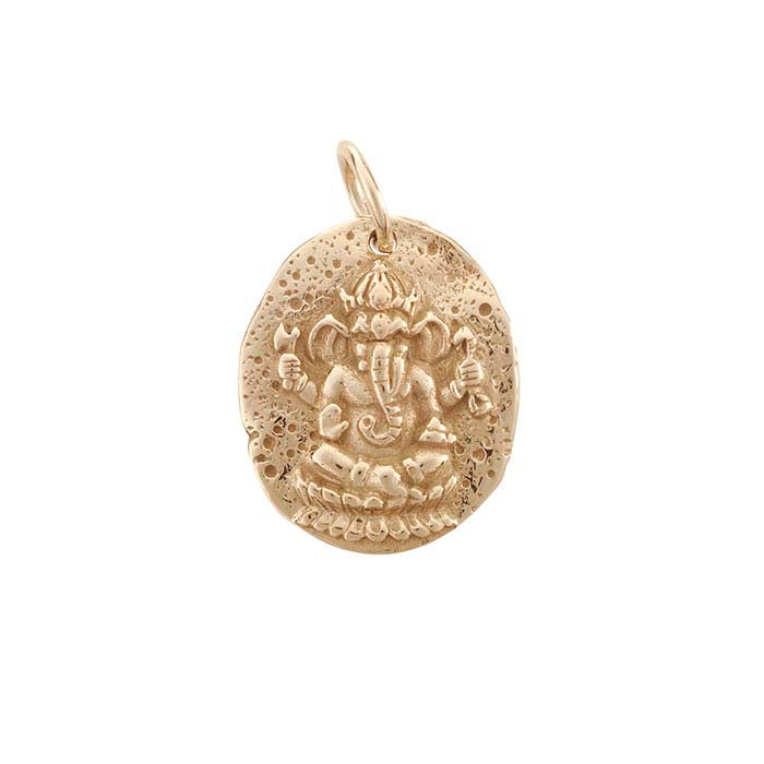 Ganesh Coin Necklace