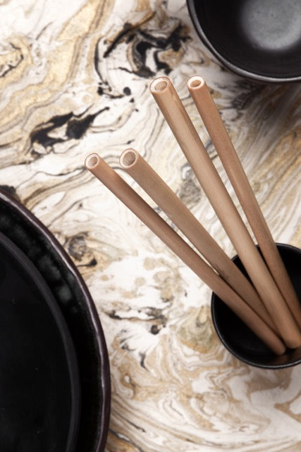 Bamboo Re-Usable Straws