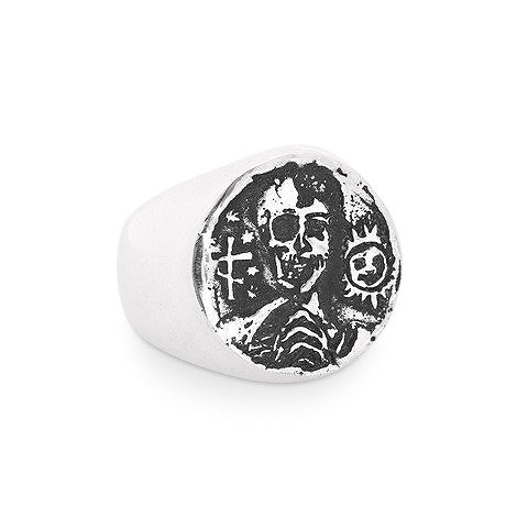 Docent Russian Tattoo Signet Ring
