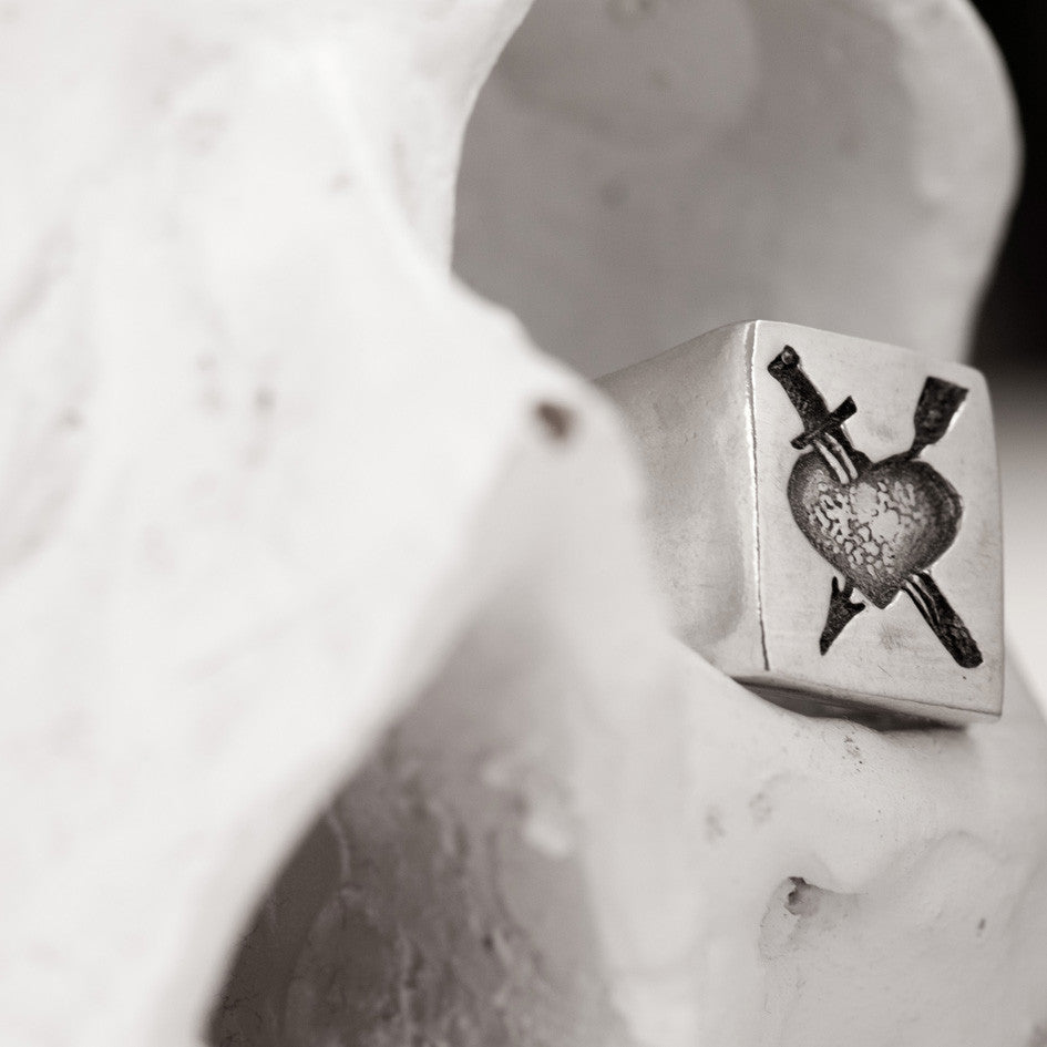 Hard Love Russian Tattoo Signet