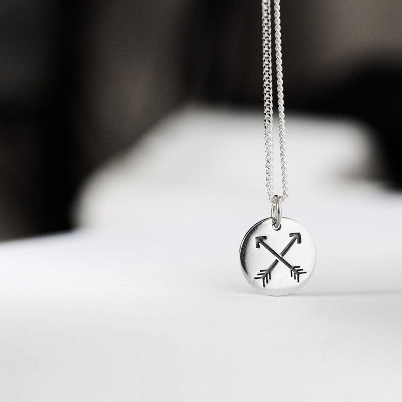 Arrows Pendant - Ready to Ship
